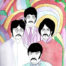 Beatles Art Print 1 by Robert Rubbish ~ 30.5cm x 38 cm ~ unframed
